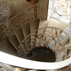 Кованая лестница КЛ__65