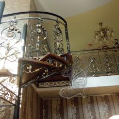 Кованая лестница КЛ__67