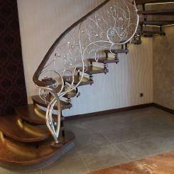Кованая лестница КЛ__80