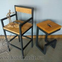 Кованые стулья, табуреты, барные стулья LOFT_49