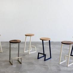Барный стул круглый LOFT_13