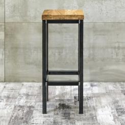 Барный стул квадратный LOFT_20
