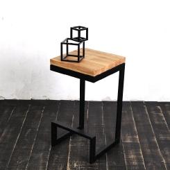 Барный стул квадратный LOFT_23