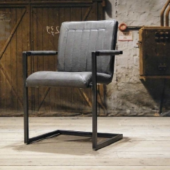 Кованый стул кресло для гостиной LOFT_29