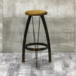 Барный стул круглый LOFT_36