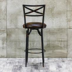 Барный стул со спинкой мягкий LOFT_37