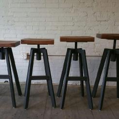 Барный стул, регулируемый табурет LOFT_3