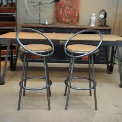 Барный стул со спинкой LOFT_6