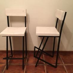 Барный стул со спинкой LOFT_9