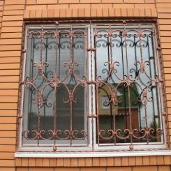 Кованые решетки на окна КР_100