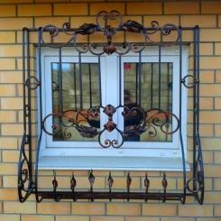 Кованые решетки на окна КР_106