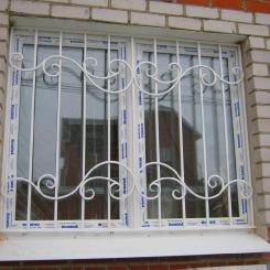 Кованые решетки на окна КР_117