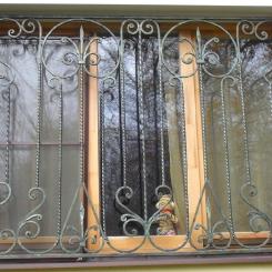 Кованые решетки на окна КР_120