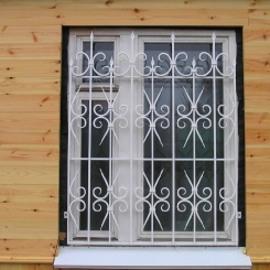 Кованые решетки на окна КР_123