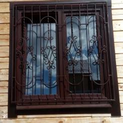 Кованые решетки на окна КР_124