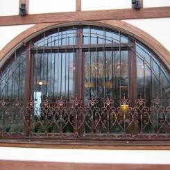 Кованые решетки на окна КР_127