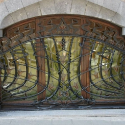 Кованые решетки на окна КР_128