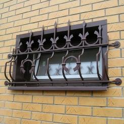 Кованые решетки на окна КР_131