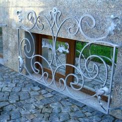 Кованые решетки на окна КР_135