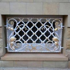 Кованые решетки на окна КР_139