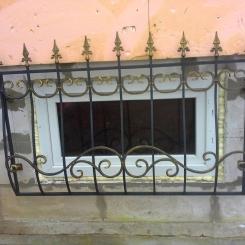 Кованые решетки на окна КР_142