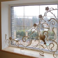 Кованые решетки на окна КР_145