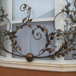 Кованые решетки на окна КР_146