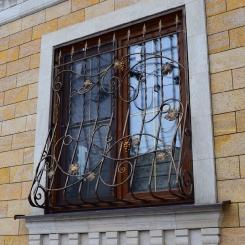 Кованые решетки на окна КР_23