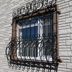 Кованые решетки на окна КР_24