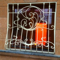 Кованые решетки на окна КР_25