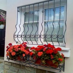 Кованые решетки на окна КР_26