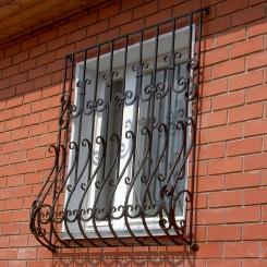 Кованые решетки на окна КР_27