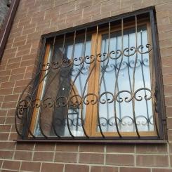 Кованые решетки на окна КР_28