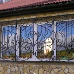 Кованые решетки на окна КР_36