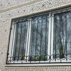 Кованые решетки на окна КР_37