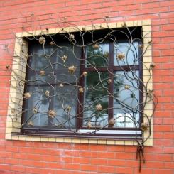 Кованые решетки на окна КР_52
