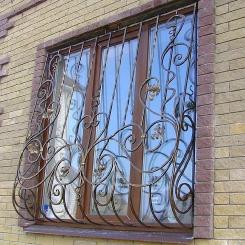 Кованые решетки на окна КР_54