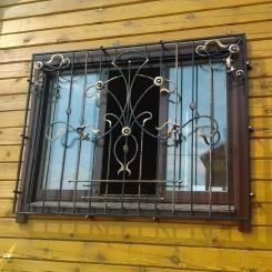 Кованые решетки на окна КР_57