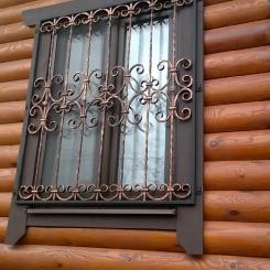 Кованые решетки на окна КР_58