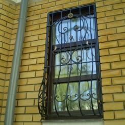 Кованые решетки на окна КР_60