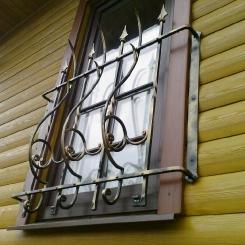 Кованые решетки на окна КР_62
