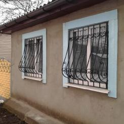 Кованые решетки на окна КР_63