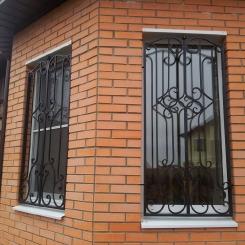 Кованые решетки на окна КР_66