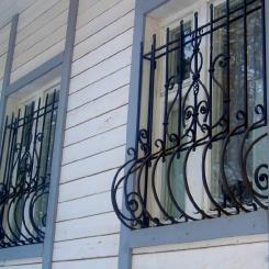 Кованые решетки на окна КР_75