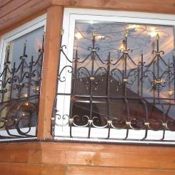 Кованые решетки на окна КР_78