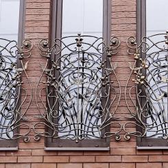 Кованые решетки на окна КР_79