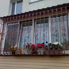 Кованые решетки на окна КР_81