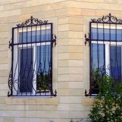 Кованые решетки на окна КР_82