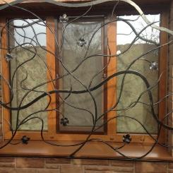 Кованые решетки на окна КР_84