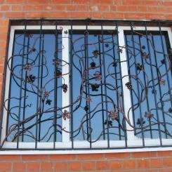 Кованые решетки на окна КР_85